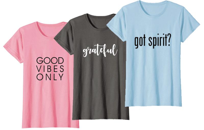 everyday zen wear t-shirts